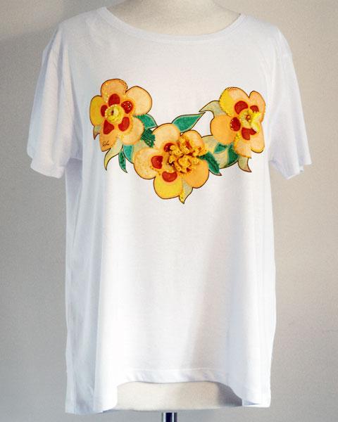 t-shirt giallo